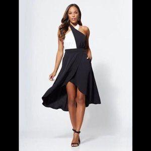 New York & Company Gabrielle Union Halter Dress M